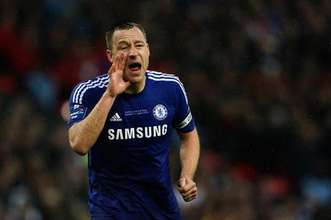 Officiel : Terry prolonge d'un an à Chelsea