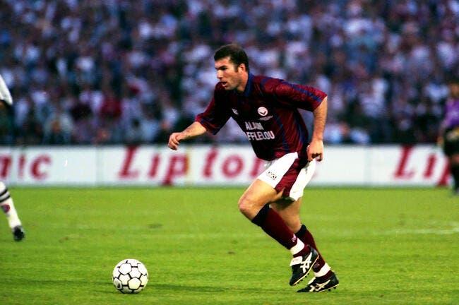 Le souvenir déroutant de Zidane à Geoffroy-Guichard
