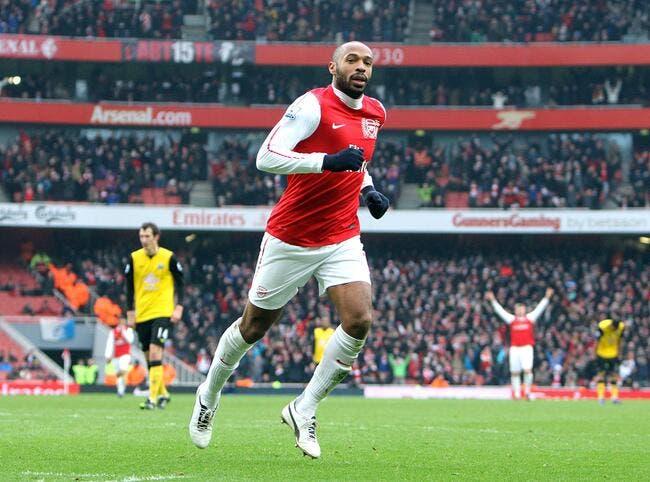 Thierry Henry raconte sa concurrence avec Dieu à Arsenal