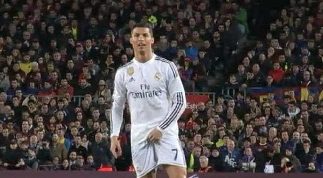 Vidéo : Un nouveau geste polémique de Cristiano Ronaldo face au Barça