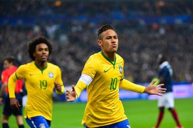 Quand Thierry Henry menace Neymar avec le sourire
