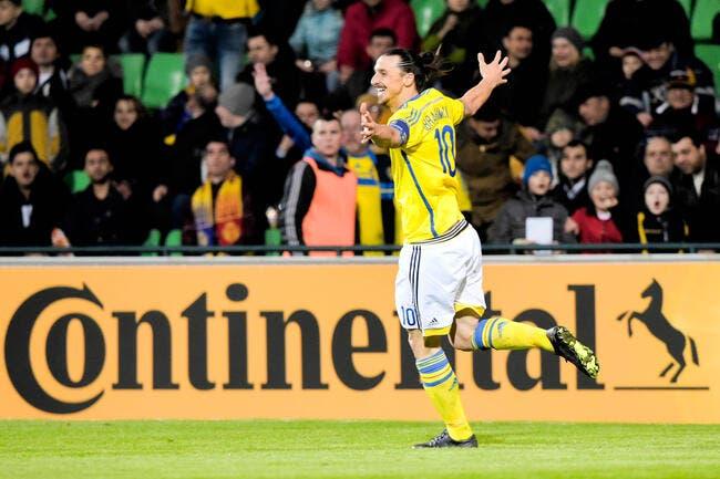 Vidéo : Le but improbable d'Ibrahimovic avec la Suède