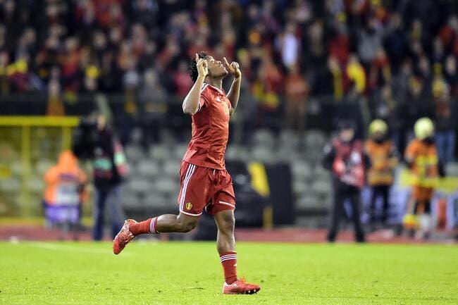 Batshuayi veut débarquer en force à l'Euro 2016