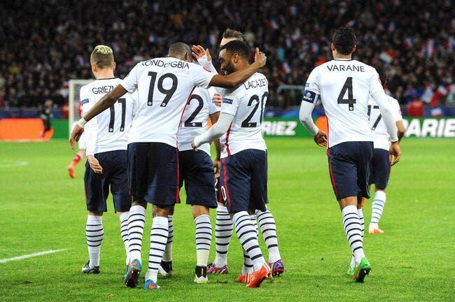 Les notes de France – Danemark : Kondogbia saisit sa chance