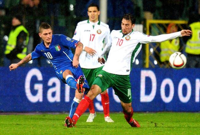 Marco Verratti risque la surchauffe avec l'Italie