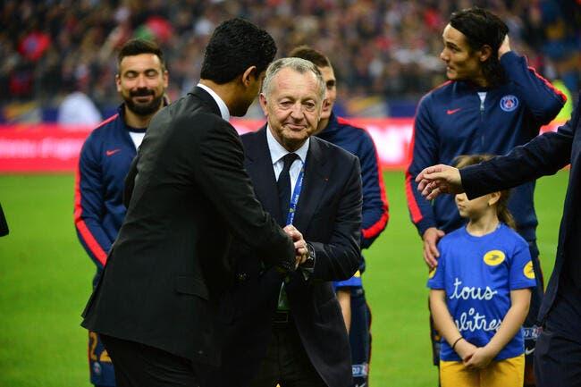 Aulas demande à Nantes de porter réclamation contre le PSG si....