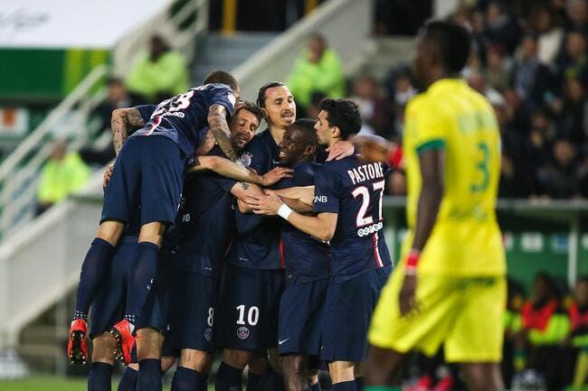 Le PSG ne tremble pas à Nantes
