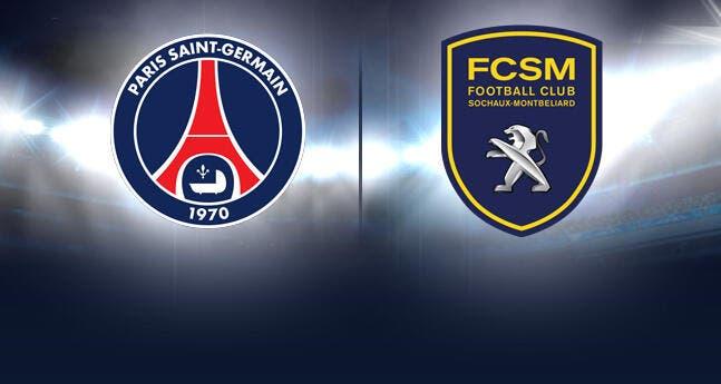 Vidéo en direct : PSG-Sochaux à partir de 17h