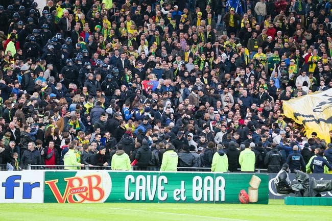 14 supporters du PSG interpellés à Nantes