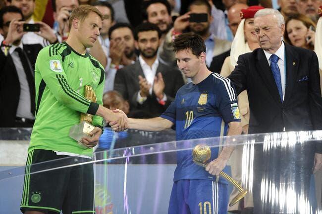 Neuer veut rappeler à Messi qui c'est le patron