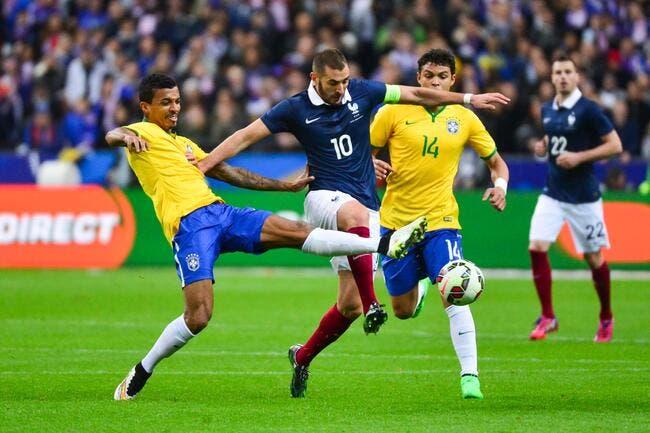 Trois joueurs du PSG avec le Brésil à la Copa America