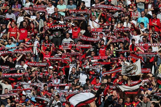 Les supporters de Guingamp refusent les conditions du PSG