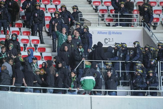 Nice ira à Saint-Etienne sans ses supporters