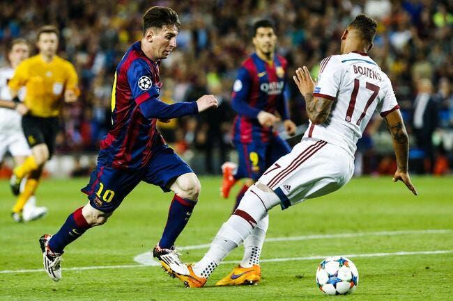 Humilié par Messi, Boateng a du soutien à l'OL