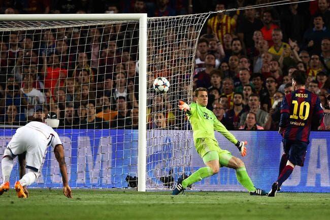 Il fallait un Messi pour crucifier le Bayern