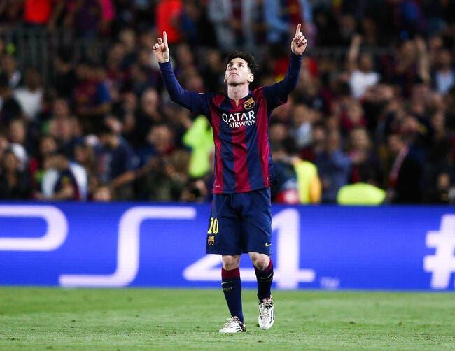 L'extraterrestre Lionel Messi