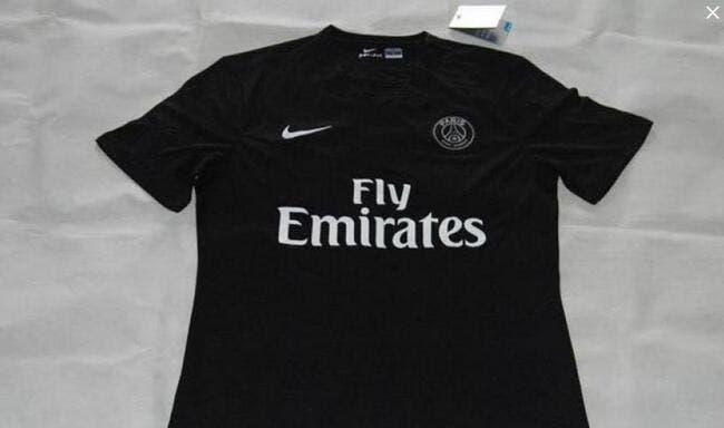Le PSG en maillot noir la saison prochaine