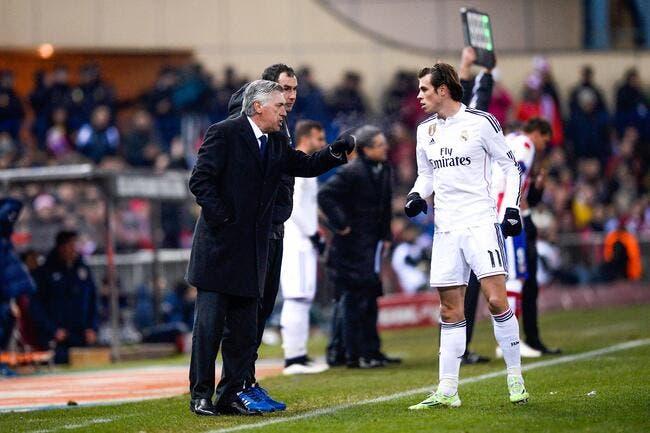 Ancelotti fouette l'agent de Gareth Bale en public