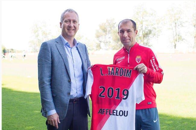 Officiel : Jardim prolonge à Monaco jusqu'en 2019