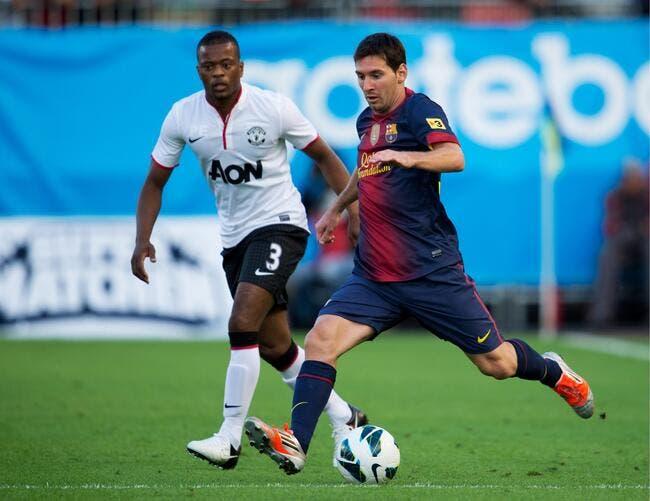 Le Barça, « c'est trois individualités » résume Evra
