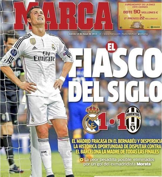 Le Real Madrid flingué dans la presse espagnole