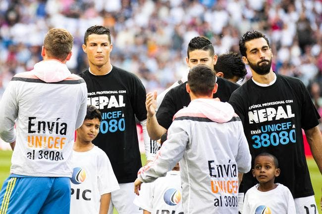 Cristiano Ronaldo n'a pas donné 7 ME pour le Népal