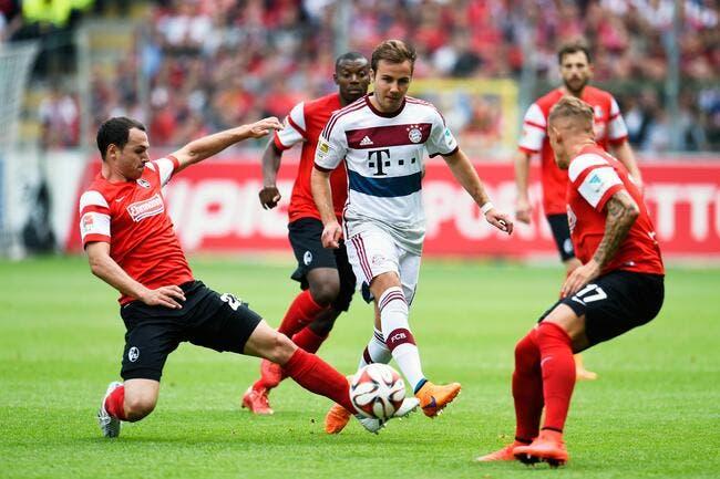 Fribourg - Bayern Munich : 2-1