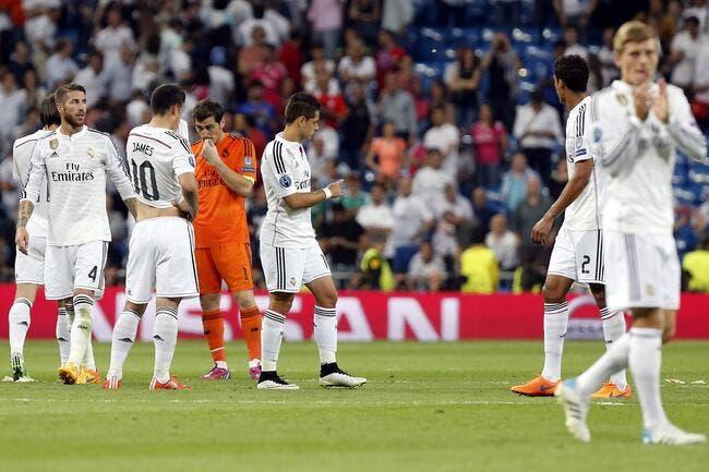 Le Real Madrid dans l'une des pires séries de son histoire !