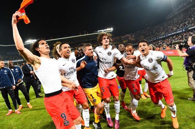 Parisiens et encore champions !