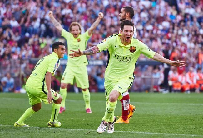 Messi offre bien sûr le titre au FC Barcelone