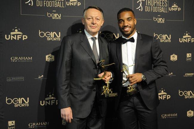Trophées UNFP : Lacazette ravi de griller les joueurs du PSG