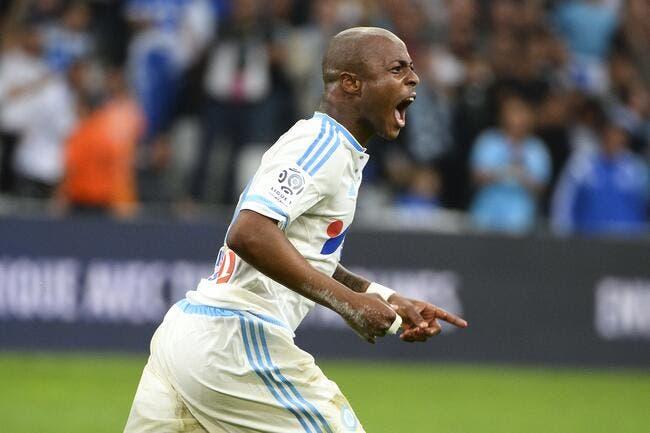 André Ayew meilleur joueur africain de L1 devant Gradel et Abdennour
