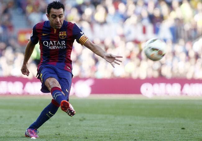 Jeudi, Xavi va dire « adios » au Barça