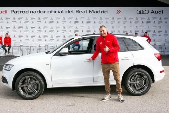 Benzema arrêté sans permis au volant d'une Rolls-Royce