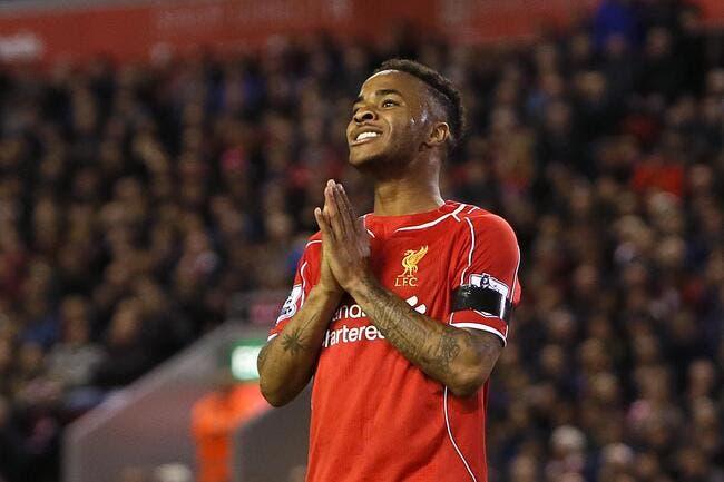 Sterling prêt à refuser 1 ME par semaine pour quitter Liverpool