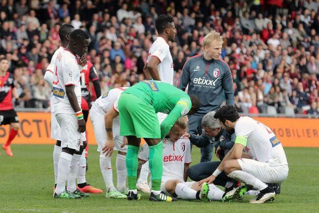 Lille n'a que 12 joueurs de champ pour affronter Metz