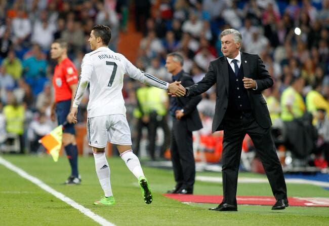 Cristiano Ronaldo demande à Ancelotti de rester