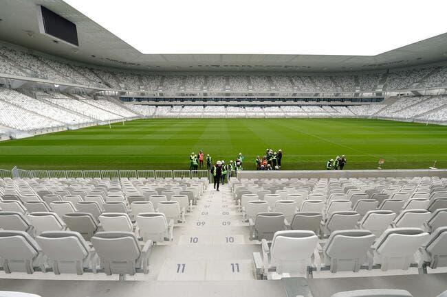 La stade de Bordeaux sans naming, un flop à 3,9ME par an
