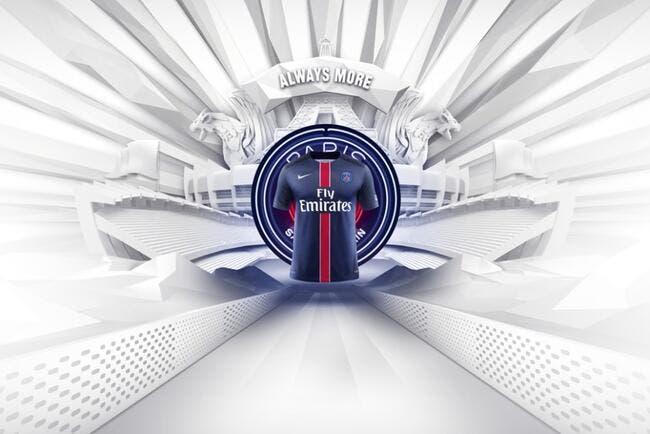 Le PSG présente son maillot domicile 2015-2016