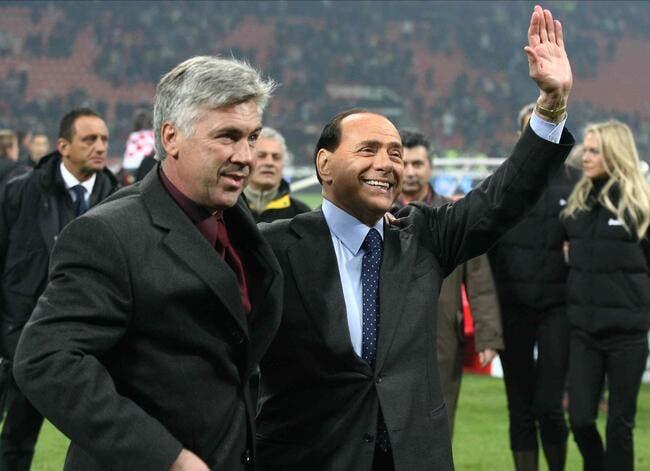 Berlusconi annonce qu'Ancelotti va revenir à Milan