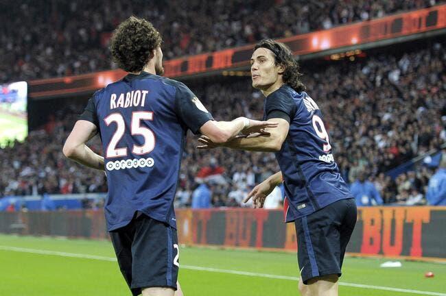 La Juventus répond à l'annonce de Cavani