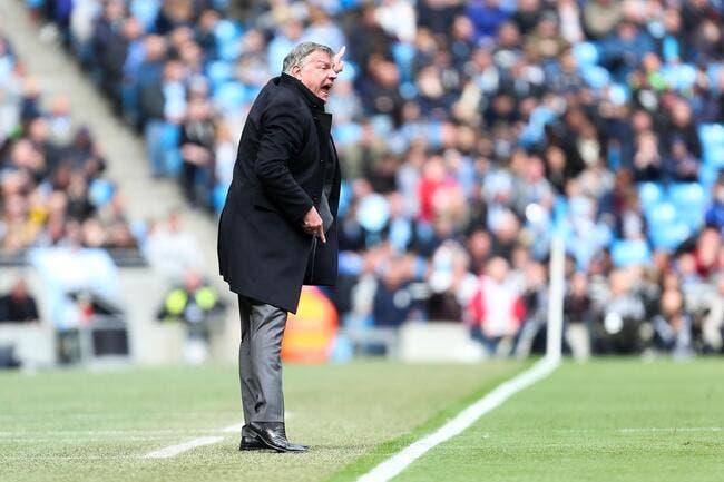 West Ham dit bye bye à Sam Allardyce
