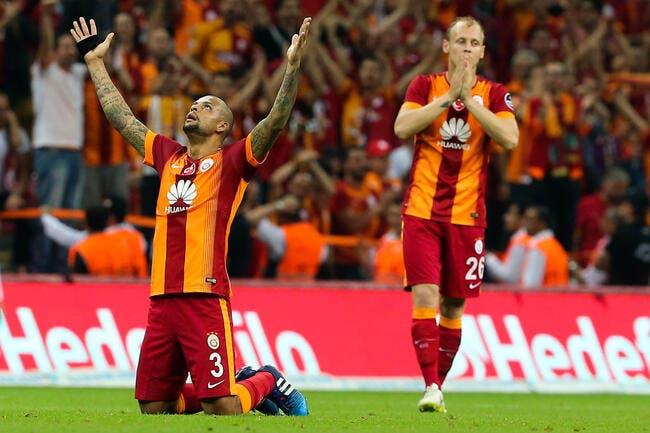 Le craquage de Felipe Melo en vidéo avec Galatasaray