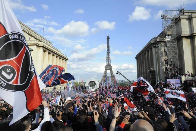 Le PSG insiste pour fêter ses titres dans les rues de Paris