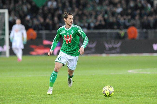 Jérémy Clément prolonge à l'ASSE jusqu'en 2018
