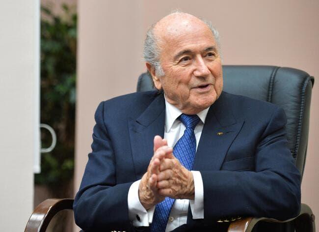 Pour FIFA16, ce sera Blatter en jaquette