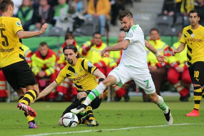 Cpe d'Allemagne : Dortmund - Wolfsburg : 1-3