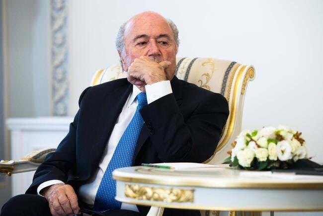 8ME par an, c'est le SMIC de Blatter à la FIFA