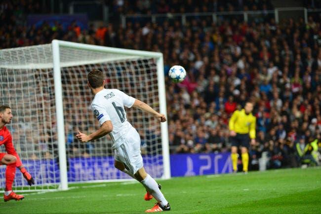 Cruelle défaite pour le PSG à Madrid