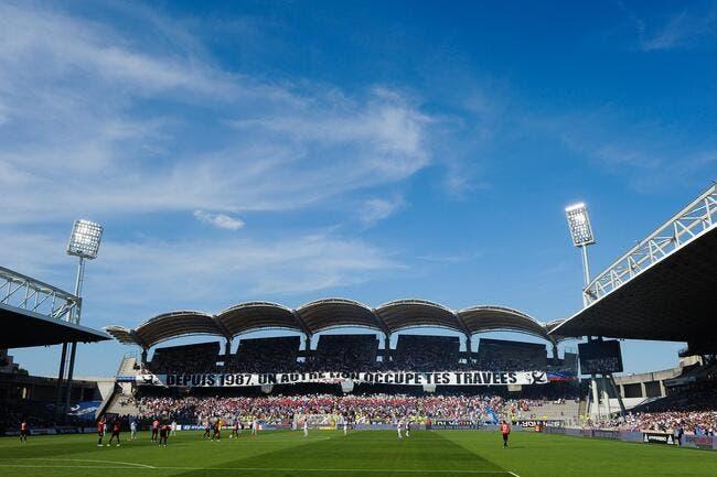 OL-Tours dernier match de l'histoire à Gerland